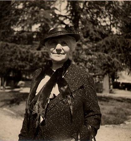 Amelia Treves Segre 1930s