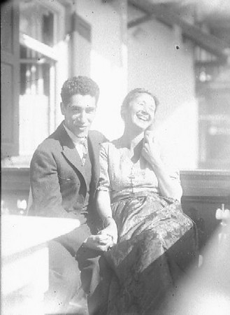 Angelo e Katia early 1920s, c