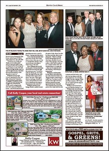My work from Sei-Ondra Williams Casino Royale Celebration appeared in the Chattanooga, Tennessee Hamilton County Herald Newspaper.