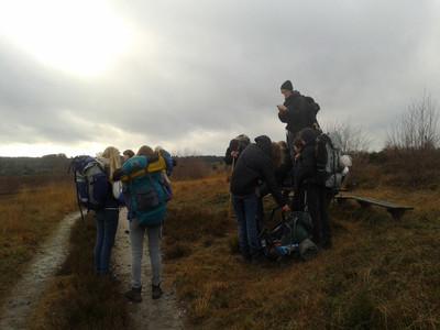 Bikkeltocht Scouts 2013