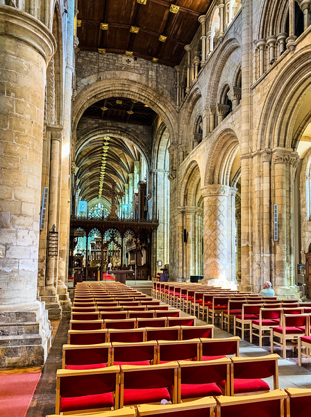 Selby Abbey Nave