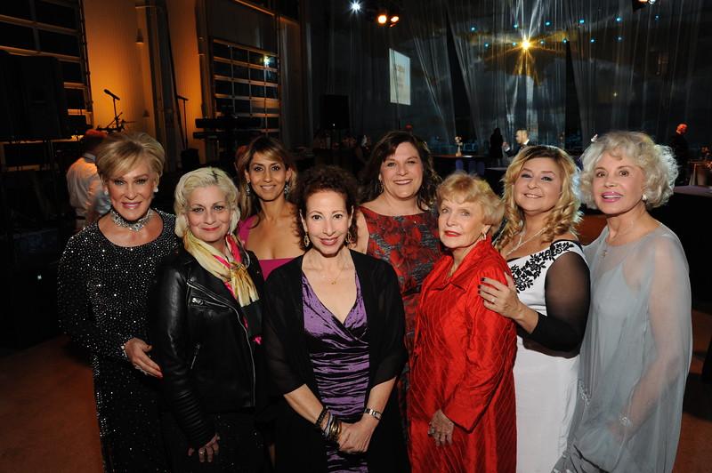 Sherry Ahern, June Chocheles, Pooneh Hamzei, Sara Zaknoen, Linda Spuck (Chair), Joan Henkelman, Zoraya de la Bastida and Sarah B. Marsh-Rebelo. Photo by Doug Gates.