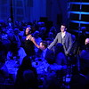Soprano Kiana Bell and Baritone Anthony Whitson-Martini perform during dinner. Photo by Doug Gates.