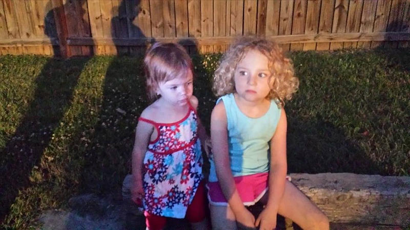 Sisters... Audrey & Emily