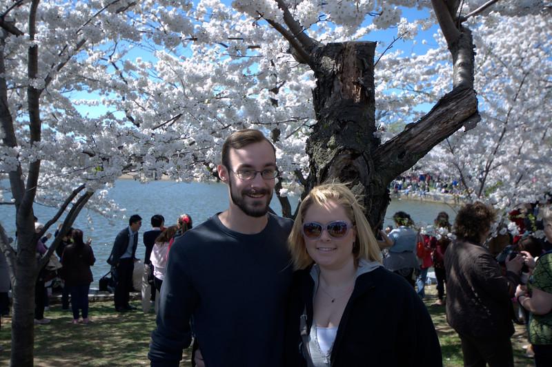 Evan & Jennifer Under the Cherry Blossom Trees