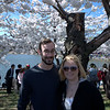 Evan & Jennifer Under the Cherry Blossom Trees