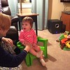 Audrey in Her Chair