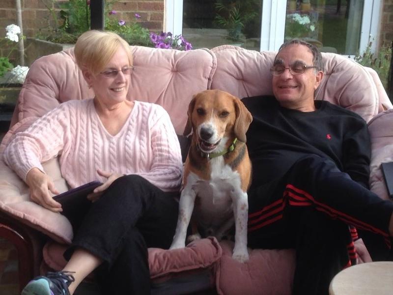 Patty & Joe with Bertie