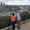 Carly & Brad at Grandview Overlook, Pittsburgh