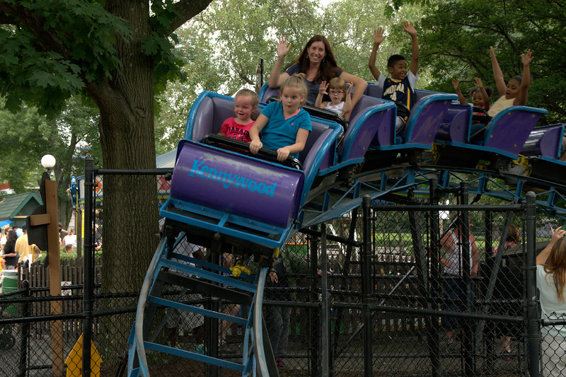 Kennywood Park Outing July 2015