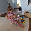 Audrey Busy Playing at Uncle Ed's