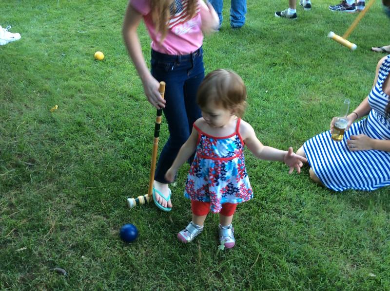 Audrey at Picnic July 4th
