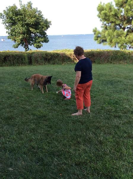Aunt Debbie with Audrey & Noah