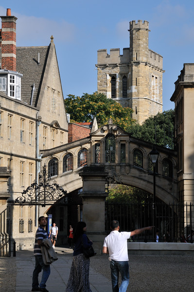Bridge of Sighs - Oxford, England