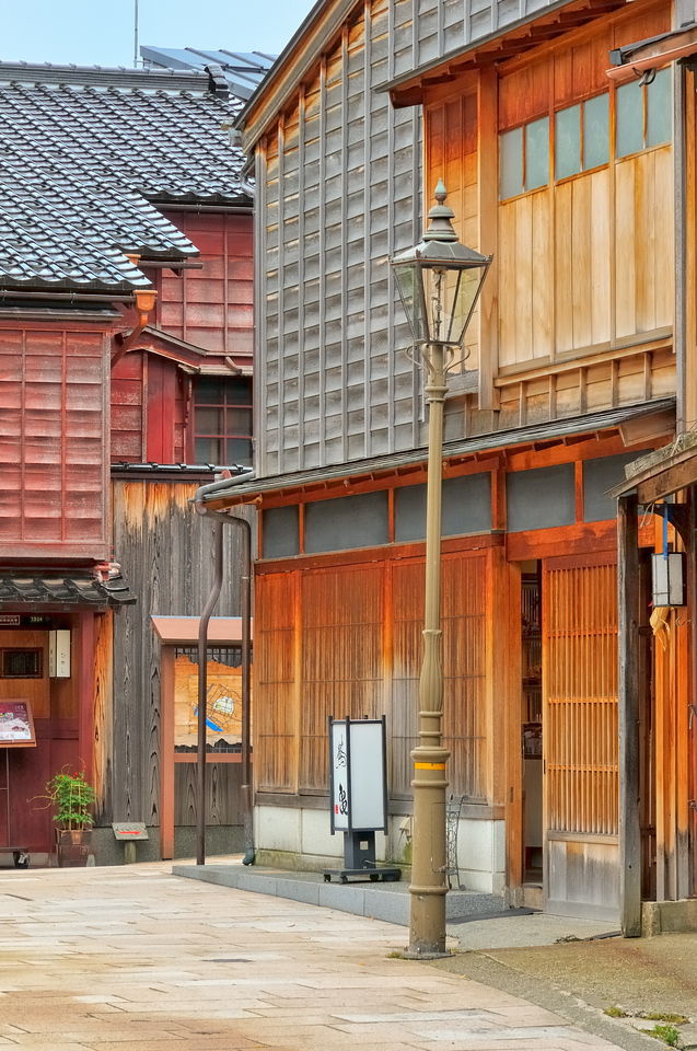 Street scene - Higashi Chaya District - Kurashiki, Japan