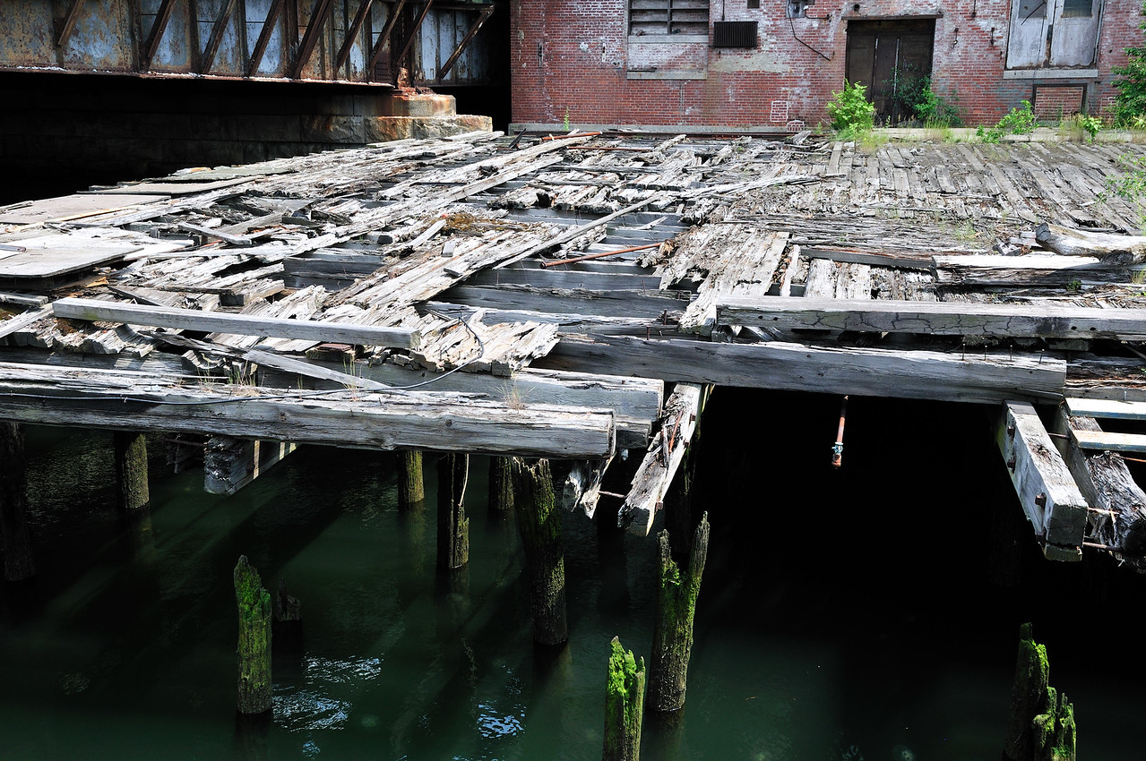 Decaying pier - Boston, Massachusetts