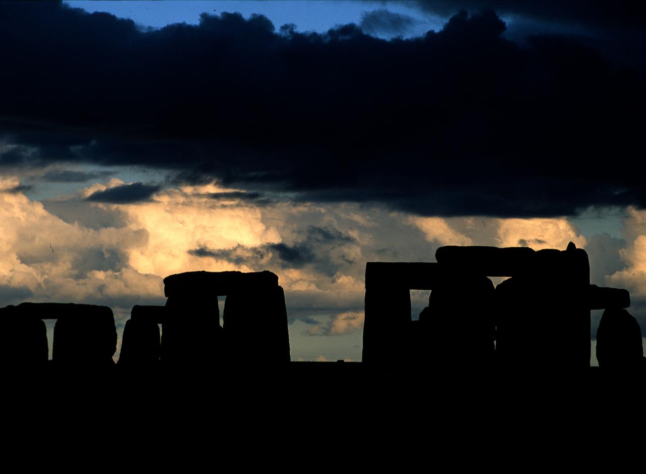 Stonehenge at sunset - Salisbury, England