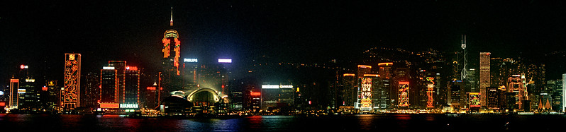 Millenium view - Hong Kong Harbor
