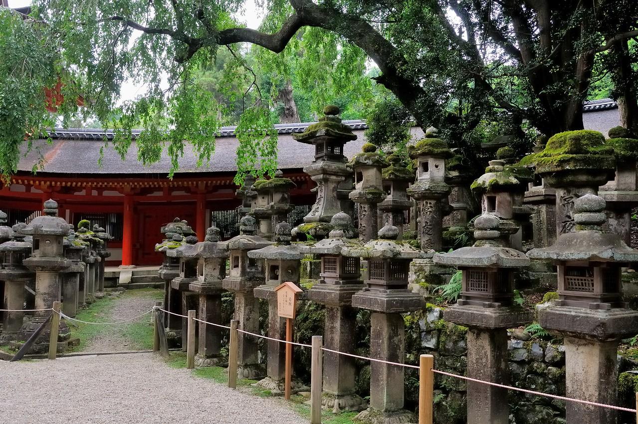 Kasuga-Taisha Shrine in Japan's first capital - Nara, Japan