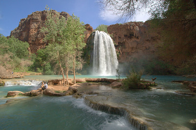 Havasu Falls and Limestone Terraces