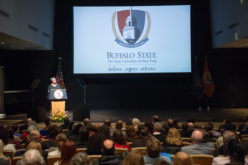 President's Opening Year Address at SUNY Buffalo State College.
