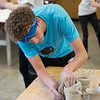2019 Clay Olympics sponsored by the Sylvia Rosen Endowment featuring Pioneer High School students and Lewiston-Porter High School students competing at Buffalo State College.