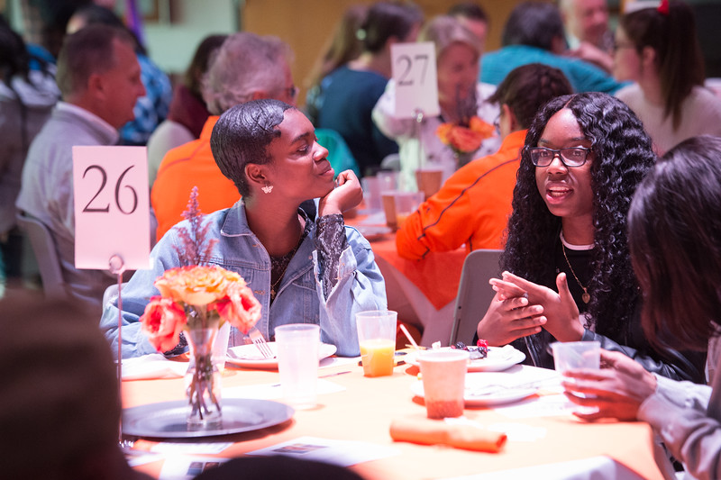 Scholar and Donor Breakfast at SUNY Buffalo State College.