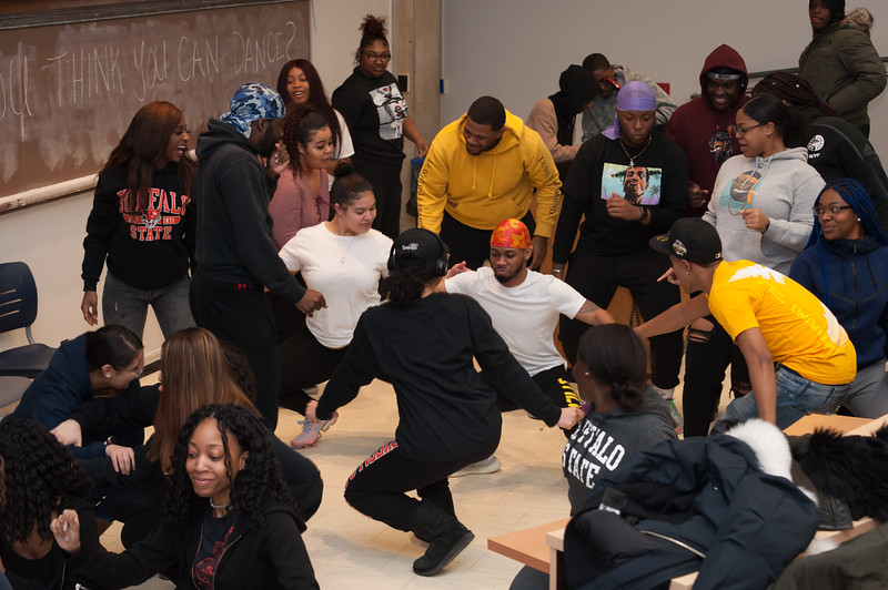 """""""So You Think You Can Dance"""" event at SUNY Buffalo State College."""