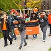 Homecoming Bengal March at SUNY Buffalo State College.