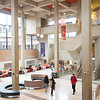 Students in newly renovated E.H. Butler Library at SUNY Buffalo State College.