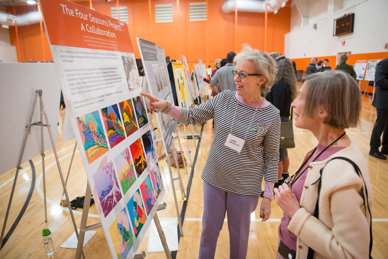 Faculty and Staff Research and Creativity Fall Forum at SUNY Buffalo State College.