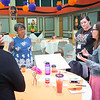 President Katherine Conway-Turner talking to participants during the Buffalo State College Anne Frank Project (AFP) Social Justice Fellows program for teachers.