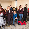 Inaugural Delta Alpha Pi honors society induction at SUNY Buffalo State College.