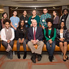 Ross B. Kenzie Presidential Scholars at Honors Programs Celebration at Buffalo State College.