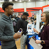 Career Development Center Job and Internship Fair at Buffalo State College.