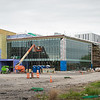 Science Building and Planetarium construction at Buffalo State College.