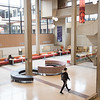 Newly renovated lobby in E.H. Butler Library at SUNY Buffalo State College.