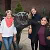 Columbian graduate students visiting campus for the first time at SUNY Buffalo State College.