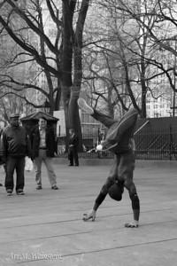 Street Performer, NYC