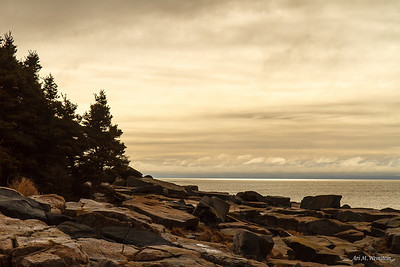 Schoodic Point sunrise, Maine