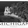 Michigan poster print.  Copyright - W. Keith Baum | PhotoCanal.com