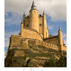 Segovia Spain poster.  Copyright - W. Keith Baum | PhotoCanal.com
