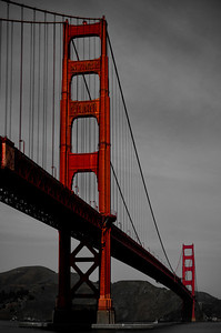 The Golden Gate Bridge, I knew it was big but did not expect this?!