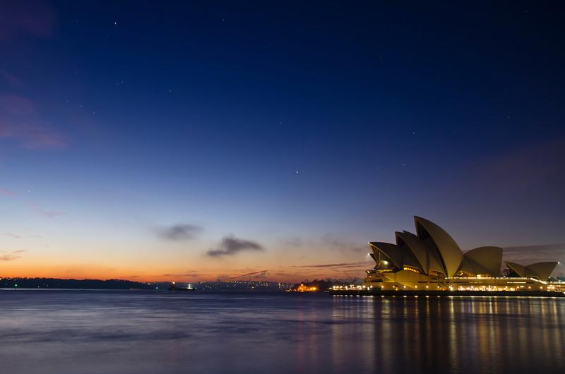 A cold winter morning in Sydney. I woke up that day at 4.30AM and decided to head down to the city. I wanted to photographt the Opera house in a different way, When I got home a went over all the pictures I could find on the internet and did not find anything that was looking like this one. I think I succeeded in getting a different view of the Opera House.