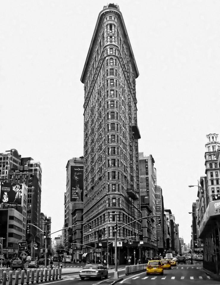 Flat Iron building NY, USA