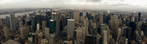 On top of the Empire state building, NY, USA