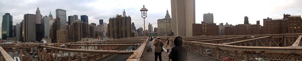Brooklyn bridge, NY, USA