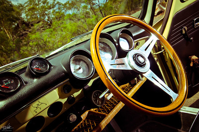 VW Type 3 Interior