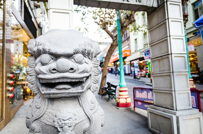 San Francisco's gate to ChinaTown
