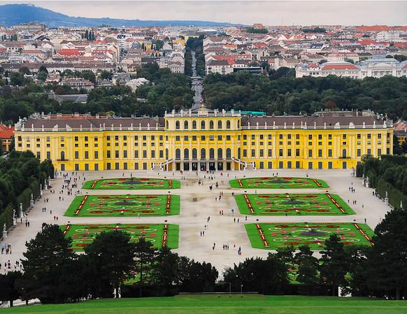 Schoenbrunn Palace and Gardens, Vienna